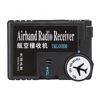 Högkänslighetsluft till markluft till luftflygband receptormottagare digital radiomottagare