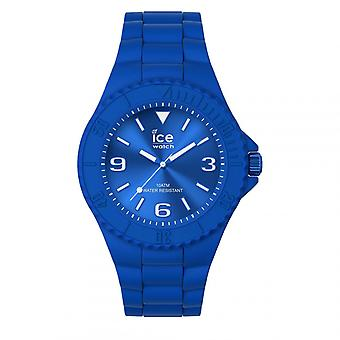 Mixed Watch Ice Watch Horloges ICE generatie - Flashy blauw - Medium - 3H 019159 - Blauwe Siliconen Band