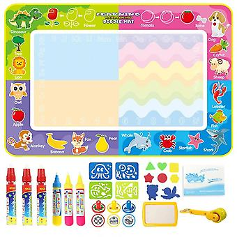 Doodle Mat Coolplay Magic Water Drawing Painting Board Toys For Kids