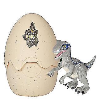 Mekanisk puslespil Hatching Egg Dinosaur Legetøj Dinosaur Egg Hatching Realistisk GROUP2