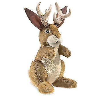 Puppets marionettes hand puppet - - jackalope toys soft doll plush 3117