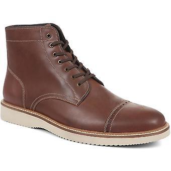 Jones Bootmaker Mens Delio Lær Ankel Støvler