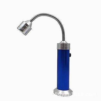 2-Pack, super helle 360 Grad flexible Schwanenhals Led Bbq Grill Licht für Bbq Grill mit Magnetischer Basis (blau)