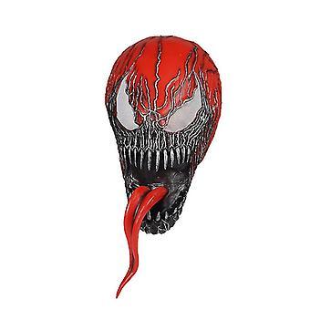 Qian Venom Mask Carnage Cosplay Cletus Kasady Killer Horror Full Head Scary Prop Latex
