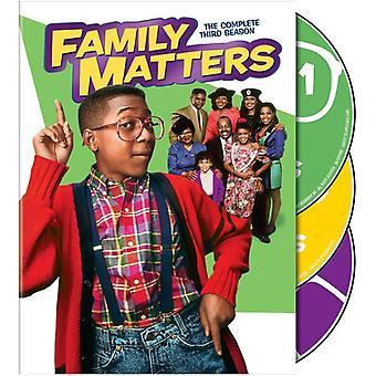 Family Matters: Season 3 [DVD] USA import