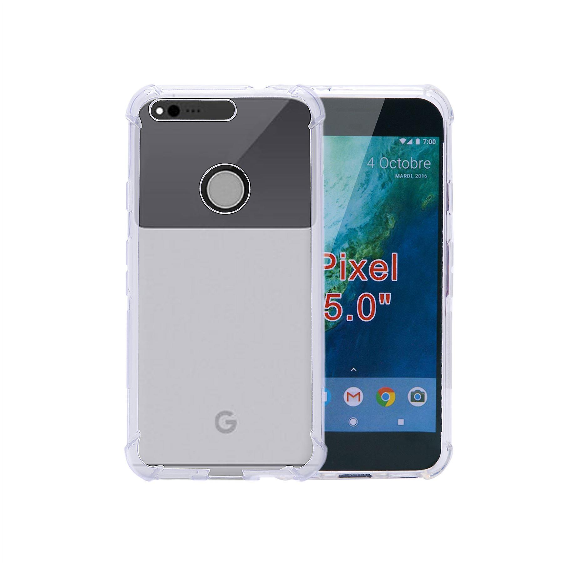 32nd Tough Gel case for Google Pixel - Clear