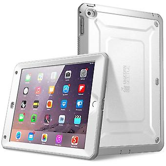 iPad Ilmastointi 2 tapauksessa SUPCASE, yksisarvinen Beetle Pro-sarja, Apple iPad ilman 2 tapauksessa karu hybridi suojaava asia-valkoinen/harmaa