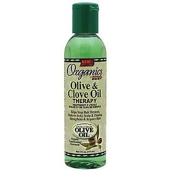 Africa's Best Organic Olive & Clove Oil Therapy 6oz