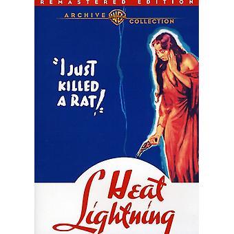 Importer des éclairs de chaleur (Remastered) [DVD] é.-u.