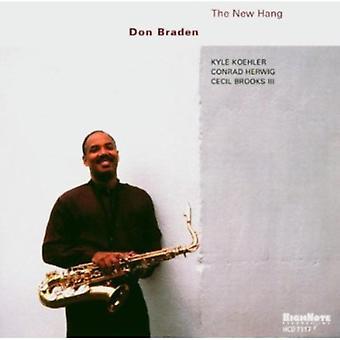 Don Braden - New Hang [CD] USA import