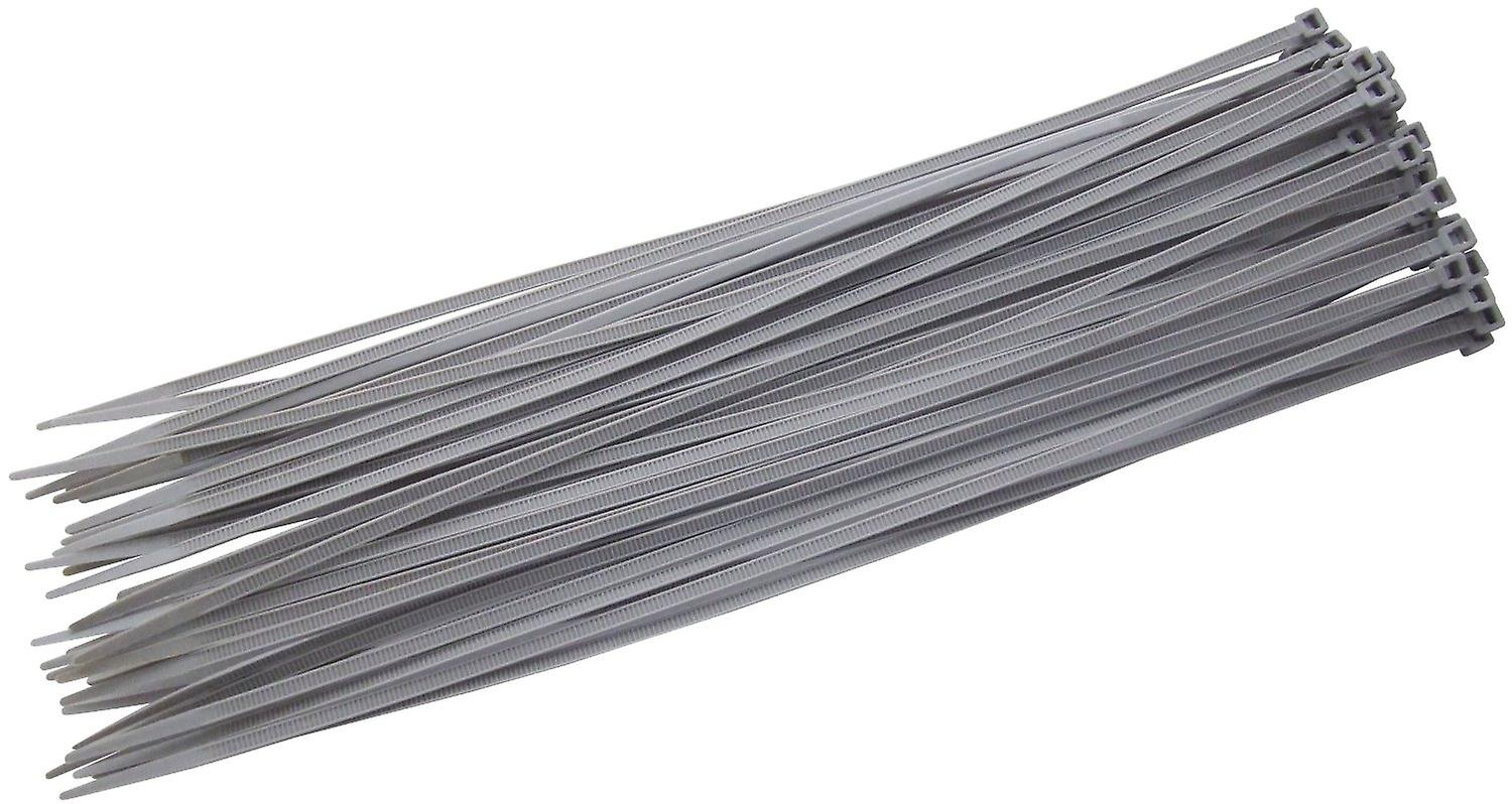 Nylon Cable Ties Cable Wrap Zip Ties Silver 370 x 4.8 Choose Quantity