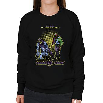 Eternia Training Centre Skeletor Crew He Man Gym Women's Sweatshirt