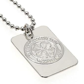 Celtic Silver Plated Pendant & Chain DT