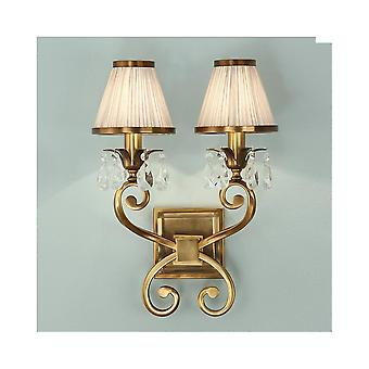 Interiors 1900 Brass Single Wall Light