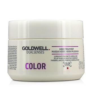 Goldwell Dual Senses färg 60sec behandling (luminositet för fint till normalt hår)-200ml/6.7 oz