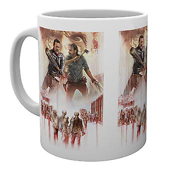 The Walking Dead Season 8 Illustration Mug
