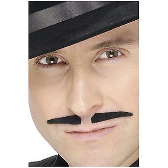 Moustache de la mafia à la 20 s costume Charleston moustache