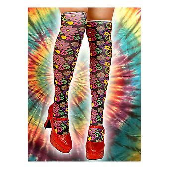 Strümpfe und Bein Accessoires Hippie-Kniestrümpfe