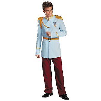 Prince charmant Prestige Deluxe Disney Princesse Story Book semaine hommes Costume XL