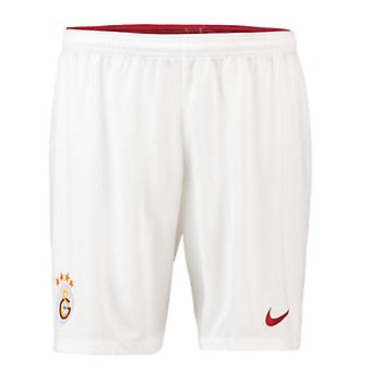 2018-2019 Galatasaray Nike Home Shorts (White)