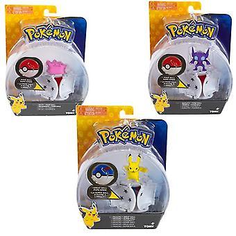 Pokemon Throw N Pop Poké Ball (Um fornecido aleatoriamente)