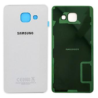 Samsung GH82 - 11020C Крышка отсека Галактика A5 2016 A510F + коврик клей белый