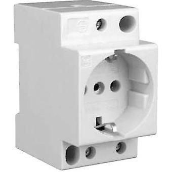 Soquete de rede do trilho do ruído w/o tampa Eaton Z-SD230 branco puro (RAL 9010) 1 PC (s)