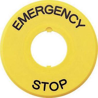 Idec HAAV 27 緊急停止の標識シリーズ AB6E