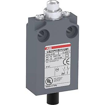 ABB LS21P11B11-U01 Limit switch 400 V AC Tappet momentary IP67 1 pc(s)
