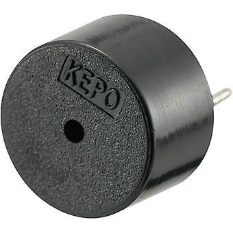 KEPO KPT-G1210-K8436 Piezo buzzer Noise emission: 80 dB Voltage: 12 V Continuous acoustic signal 1 pc(s)
