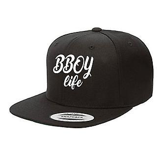 HIPHOP73 B Boy Snapback Black