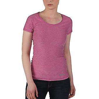 Bench sporty short sleeve Fitnress shirt in purple Heather size L