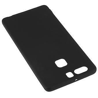 TPU softtasche, Matte zurück Abdeckung für Huawei P9 - schwarz