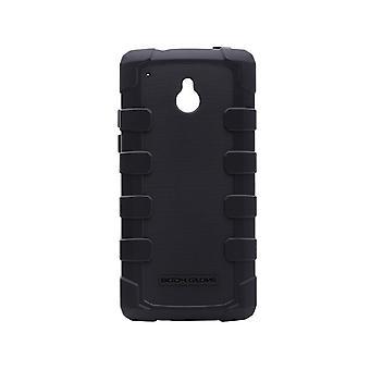 הגוף הכפפות Dropsuit במקרה מחוספס עבור HTC אחת מיני (שחור)