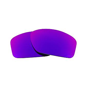 SeekOptics Replacement Lenses for Oakley VALVE Polarized Purple Mirror UV400