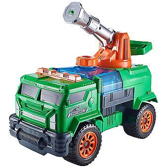 Palude di Matchbox Aqua Cannon Blaster Rig verde