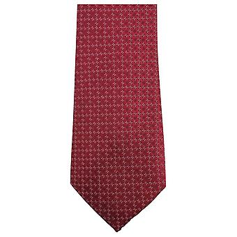 Knightsbridge Neckwear Small Floral Tie - Red
