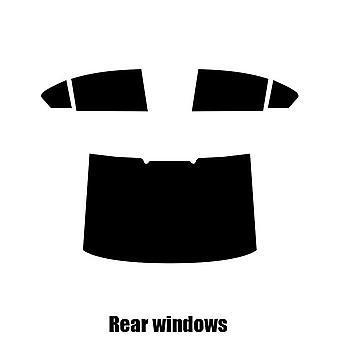 Pre cut window tint - VW Passat 4-door Saloon - 2015 and newer - Rear windows