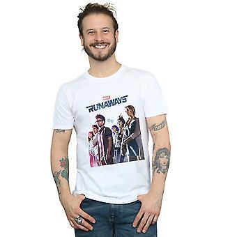 Förundras över mäns Runaways Misty Poster T-Shirt