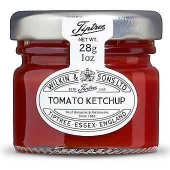 Tiptree Tomato Ketchup Portions Pots