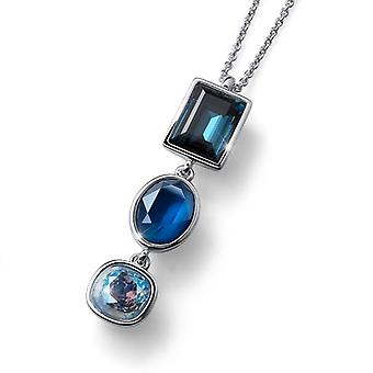 Oliver Weber Chain Royal Large Rhodium