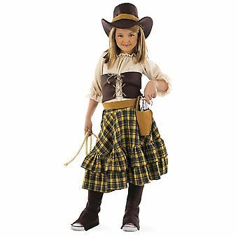 Costume de fille de brigand costume Lady Western Cowgirl enfant