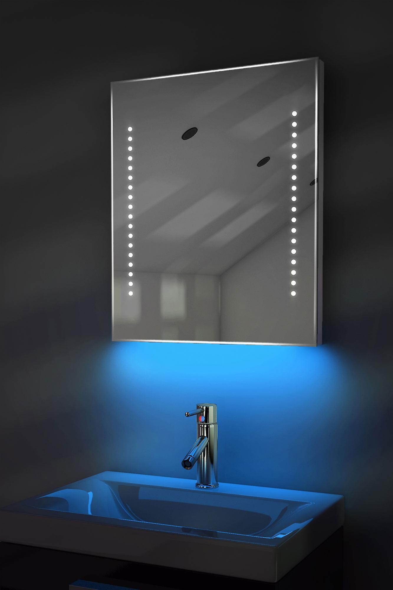Auto couleur changement rasoir Rgb miroir avec désembuage & K55Srgb capteur