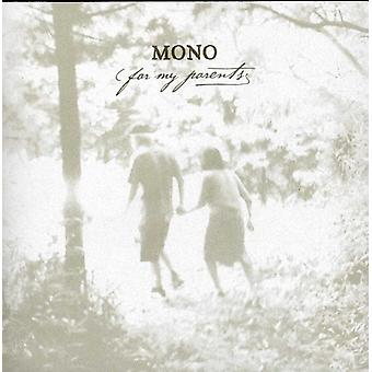 Mono - For My Parents [CD] USA import
