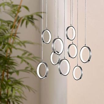 Taklampa pendel lampa ljus runda vardagsrum matbord 9 hänge ljus nya
