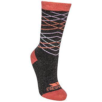 Trespass Womens/Ladies Annika Casual Socks