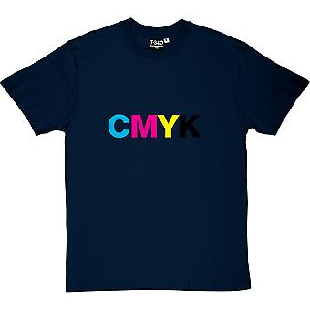 CMYK-Herren T-Shirt