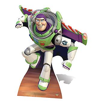 Buzz Lightyear Wings Extended Style Lifesize Karton Cutout / Standee (Toy Story)