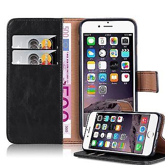 iPhone 6 PLUS / 6S PLUS 折りたたみ式電話ケース用ケース - カバー - スタンド機能とカードコンパートメント付き