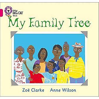 Mon arbre généalogique: Bande 1 a/Pink Phase 8, Bk 4 (Collins Big Cat)